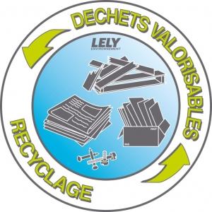 Collecte de déchets de chantier valorisables