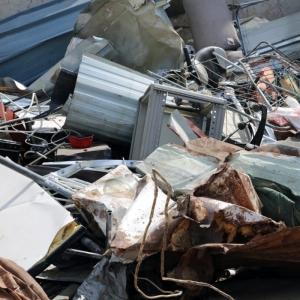Collecte des déchets en ferrailles