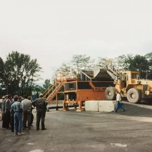 Création d'un centre de broyage du bois avec la Compagnie de Chauffage Urbain de Grenoble
