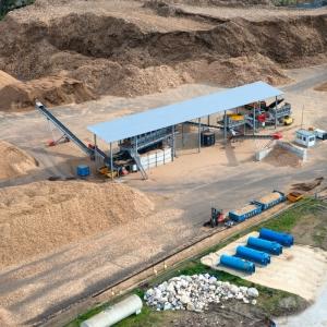 Installation mâchefer avec des procédés de toute dernière génération pour l'extraction des métaux.