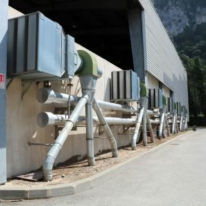 Plateforme de valorisation biogaz
