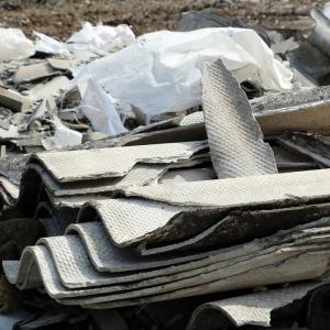 Collecte de déchets fibrociments