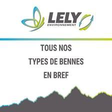 Aperçu des types de bennes Lely Environnement